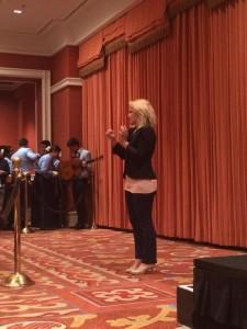 ASL Interpreter at Hillary Clinton Debate Party