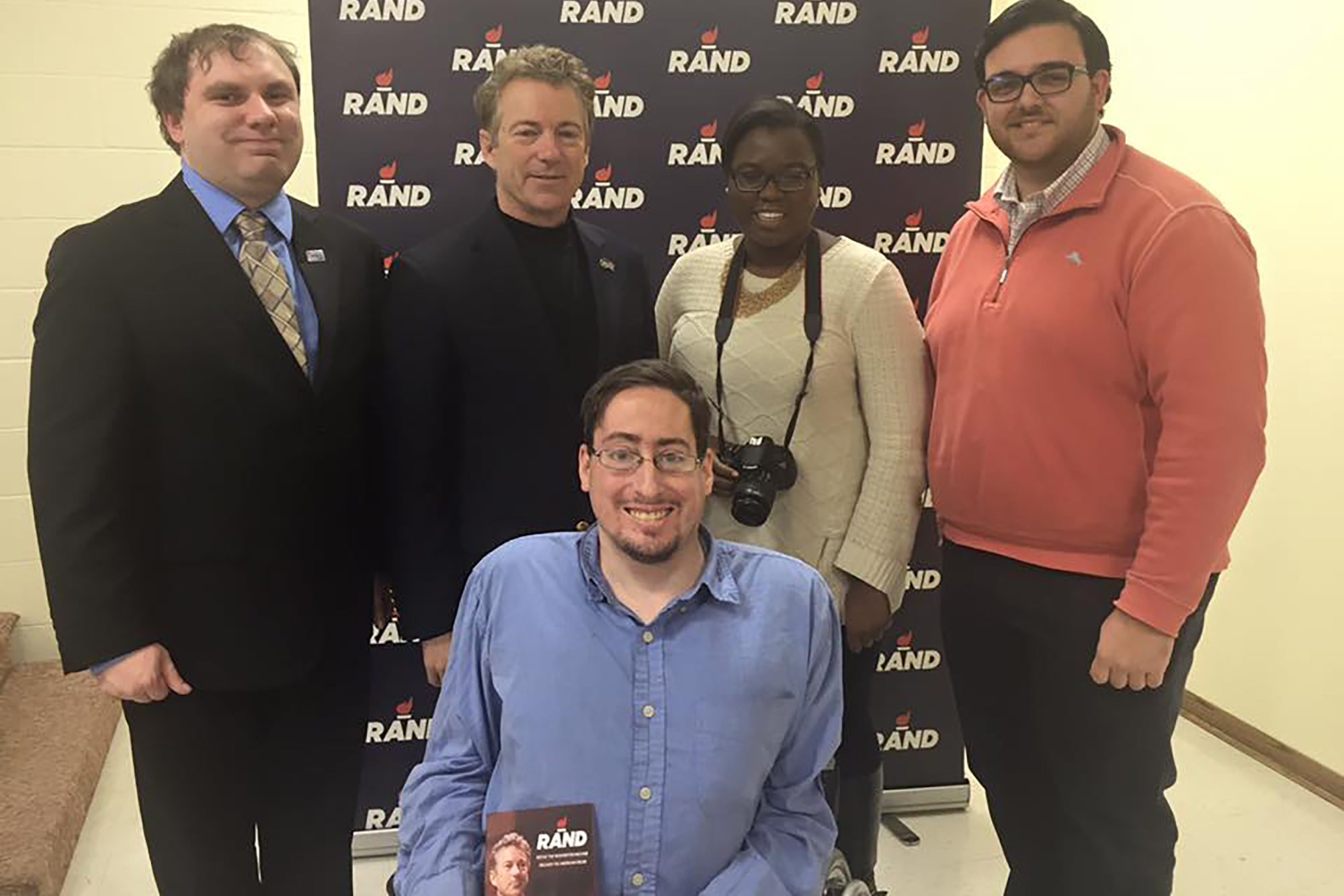 In January, James interviewed Sen. Rand Paul in New Hampshire.