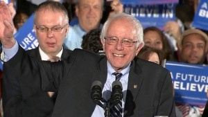 Sen. Bernie Sanders in Concord, New Hampshire