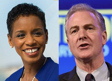 Reps. Donna Edwards and Chris Van Hollen