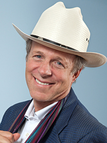 Headshot of Mark McKinnon wearing a cowboy hat