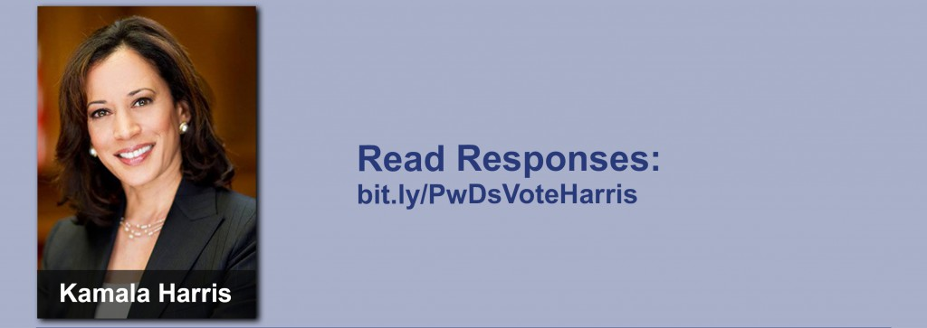 Click on the image to view all of Kamala Harris's answers to the questionnaire.