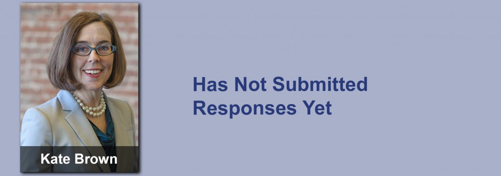 Kate Brown has not submitted her responses yet.