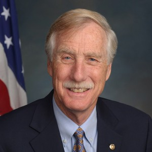 Angus King headshot