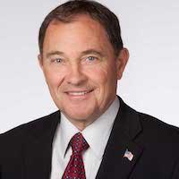 Utah Governor Gary Herbert smiling