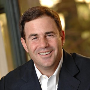 Arizona Governor Doug Ducey smiling