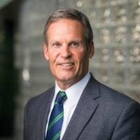 Tennessee Governor Bill Lee smiling