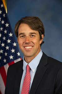 Beto O'Rourke's official Congressional headshot