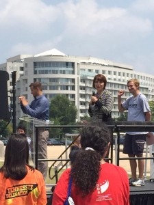 Cathy McMorris Rodgers at NCIL Rally