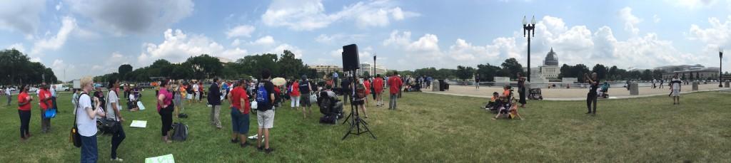 Sen. Bernie Sanders at NCIL Rally