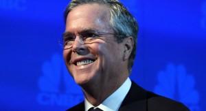 Former Gov. Jeb Bush at the CNBC Debate