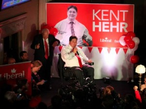 Kent Hehr, Minister of Veterans Affairs and Associate Minister of National Defence