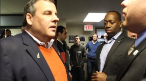 RespectAbility Fellow James Trout interviews Gov. Chris Christie in Pelham, NH on Dec, 21, 2015
