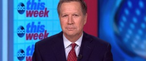 "In an interview Sunday on ABC's ""This Week,"" John Kasich, a GOP presidential candidate, said his rival Donald Trump has insulted a slew of people, including women, Muslims, Hispanics and reporters."