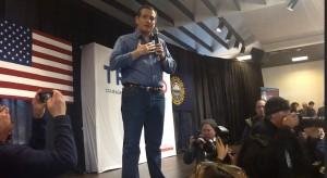 Sen. Ted Cruz in Windham, New Hampshire