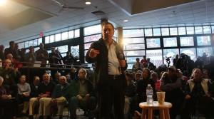 Gov. John Kasich in Concord, New Hampshire