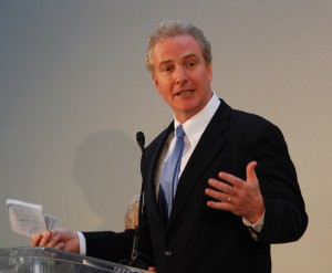 IMAGE Rep. Chris Van Hollen (D-MD) at reception celebrating the 100th anniversary of the Federation of American Societies for Experimental Biology (FASEB) and the 50th anniversary of the National Institute for General Medical Sciences (NIGMS)