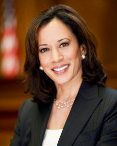 headshot of Kamala Harris