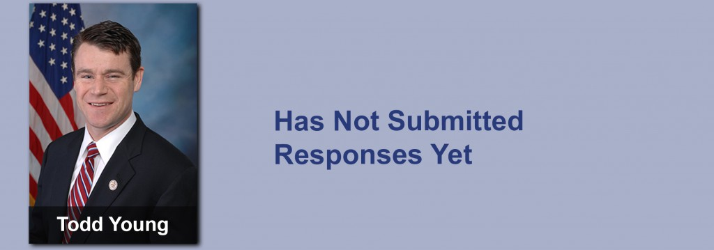Todd Young has not submitted his responses yet.