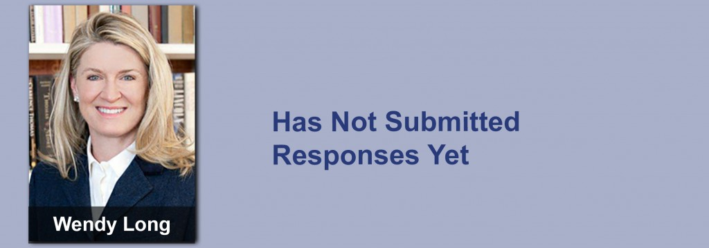 Wendy Long has not submitted her responses yet.