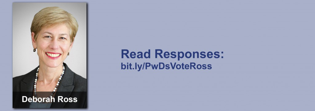 Click on the image to view all of Deborah Ross's answers to the questionnaire.