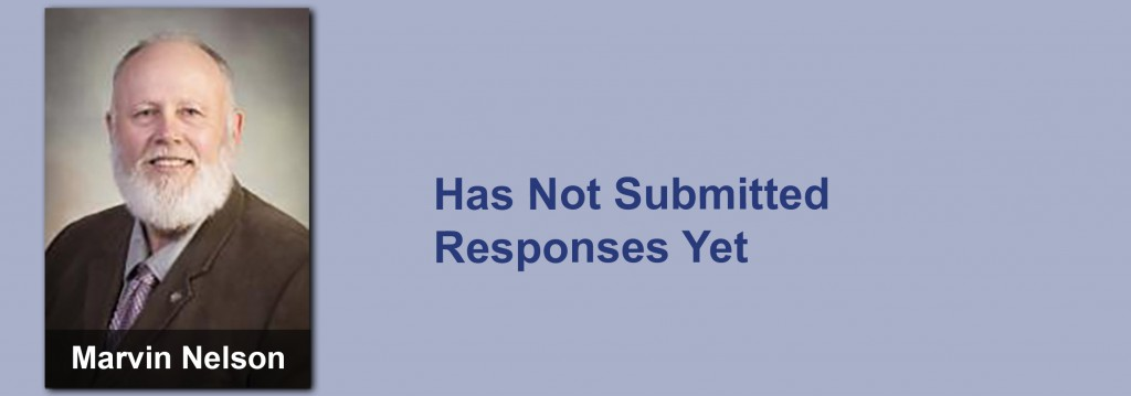 Marvin Nelson has not submitted his responses yet.