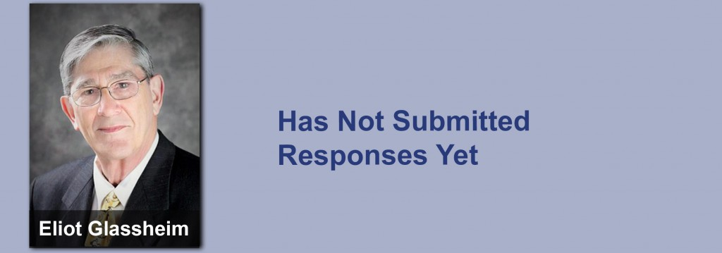 Eliot Glassheim has not submitted his responses yet.