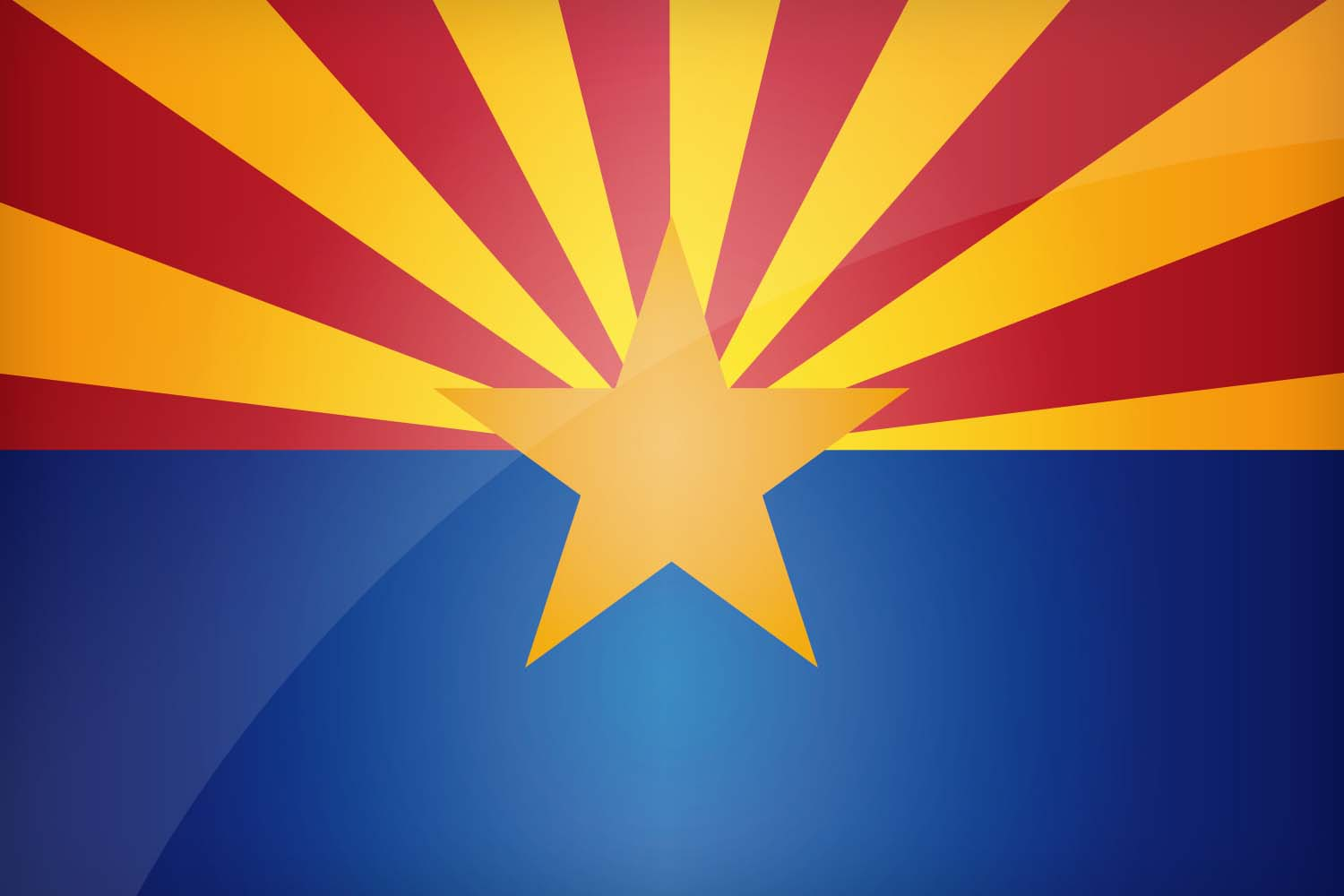 Arizona's state flag