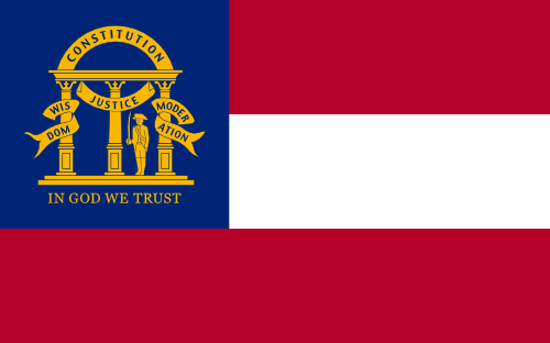 State flag of Georgia