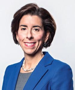 Rhode Island Governor Gina Raimondo smiling