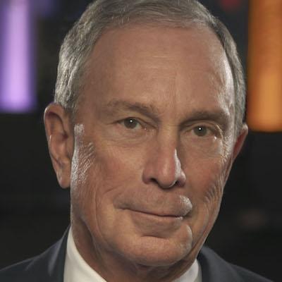Michael Bloomberg smiling headshot