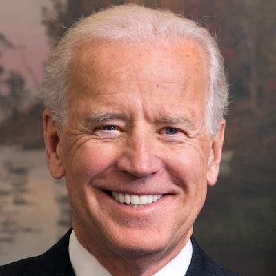 Joe Biden smiling headshot