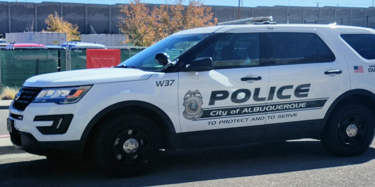 A Ford Police SUV from the Albuquerque Police Department
