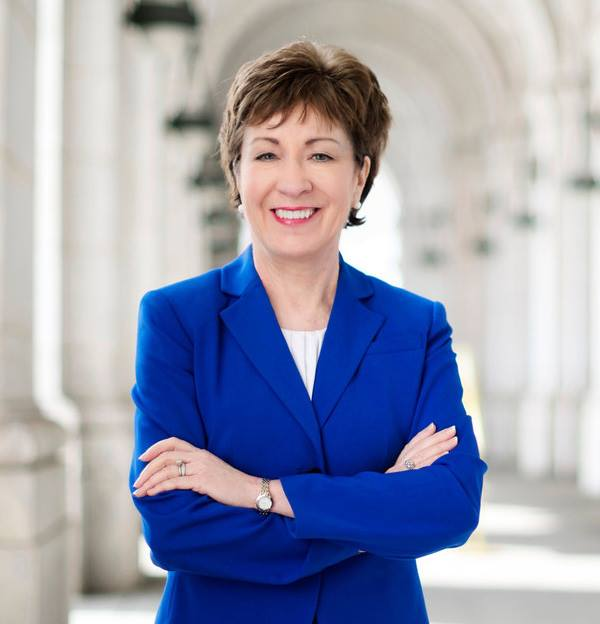 headshot Susan Collins