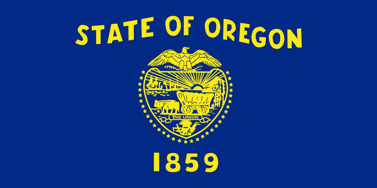 State flag of Oregon